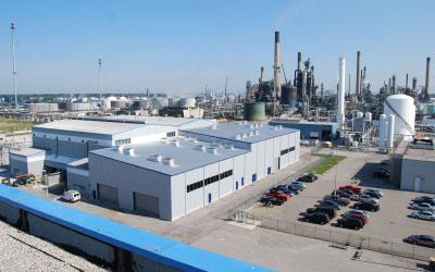 H.C. Starck Tungsten Powders Standort Sarnia, Kanada
